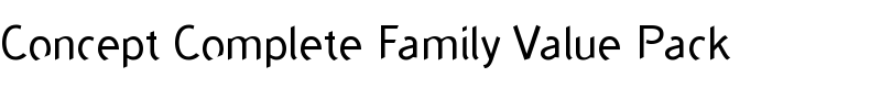 Concept™ Complete Family Value Pack  de ABC Types