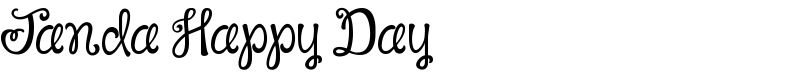 Janda Happy Day font by Kimberly Geswein